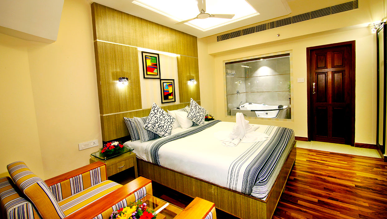 deluxe hotel rooms in kannur